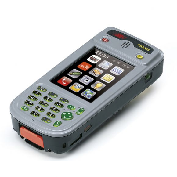 FDA300 ultra rugged industrial PDA long battery autonomy