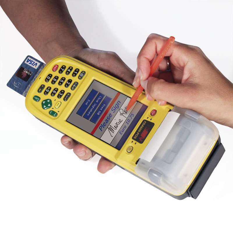 Rugged ALL IN ONE printer PDA for cashless payments FDA600-POS