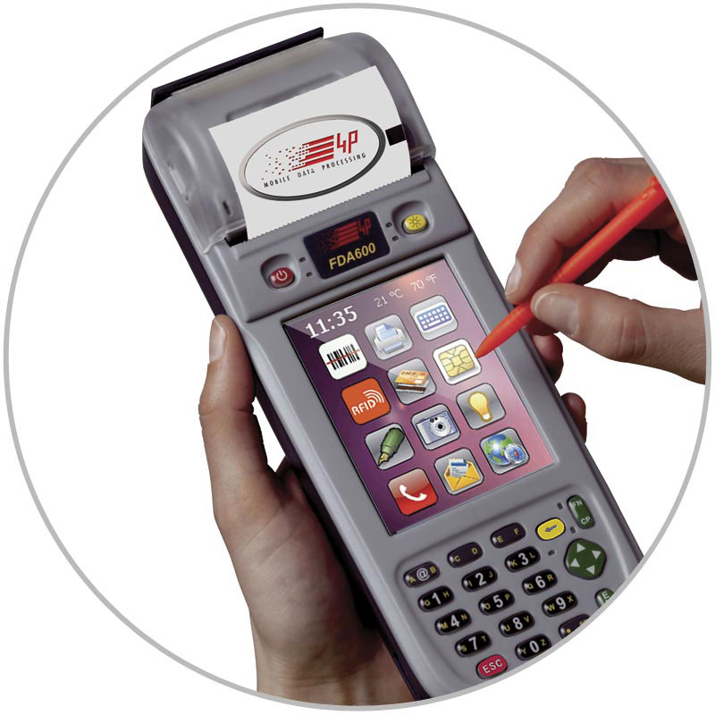 FDA600 ALL IN ONE rugged multifunctional handheld computer