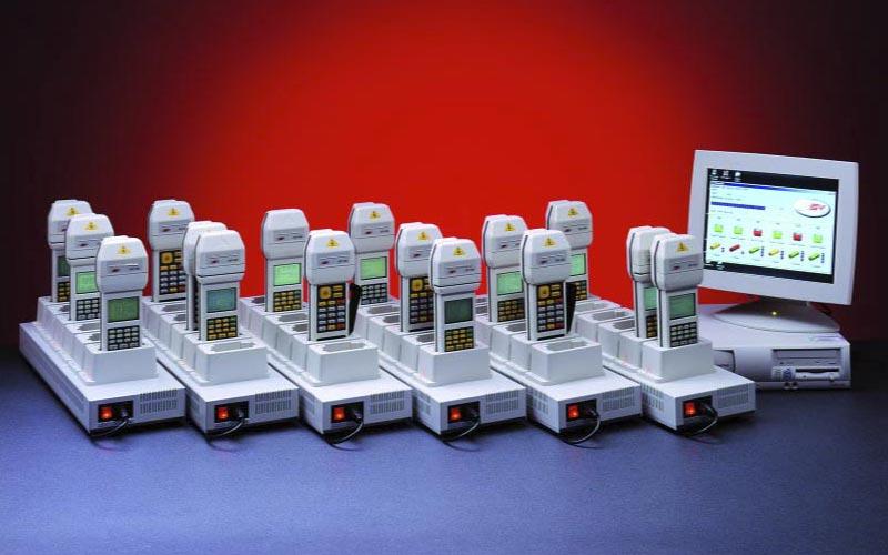 DAT400-DAT500-Kommunikationsrack