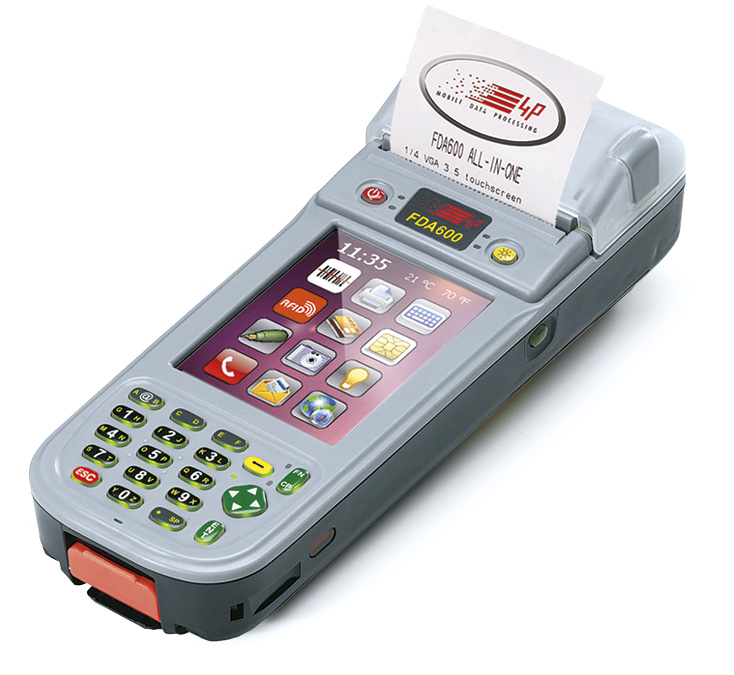 FDA600 ALL IN ONE printer PDA with embedded EFTPOS for cashless payments