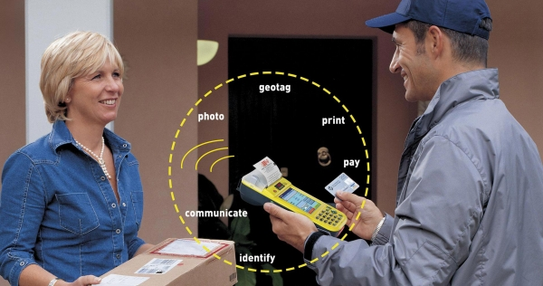 FDA600 delivering parcel postal and door to door sales